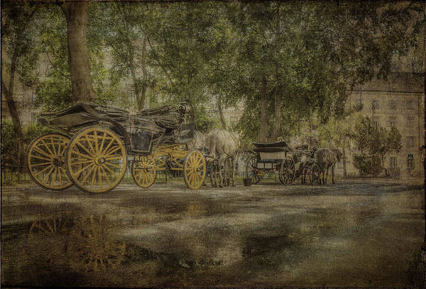 Photograph - Textured Carriages by Roberto Pagani