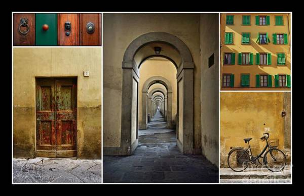 Photograph - Textures Of Florence by Patricia Strand