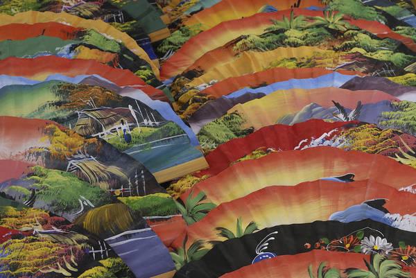 Wall Art - Photograph - Thai Fans by Liz Pinchen