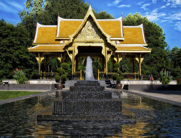 Thai Pavilion - Madison - Wisconsin Art Print