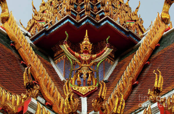 Wall Art - Photograph - Thailand Architecture by Bob Christopher