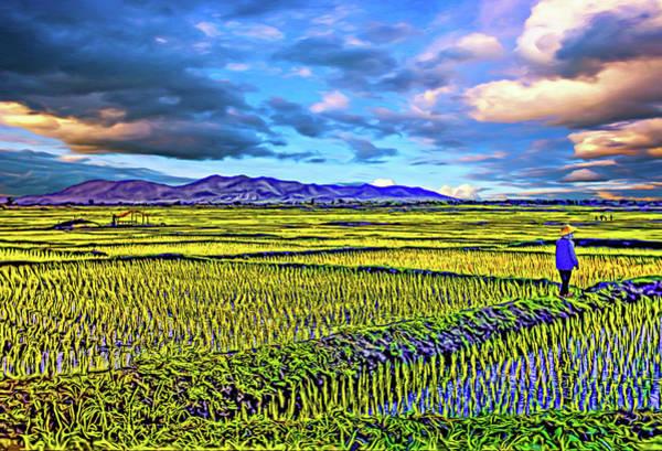 Coolie Photograph - Thailand - Heartland - Paint by Steve Harrington