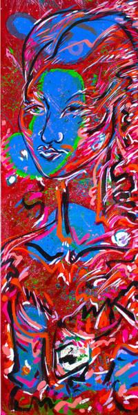 Ranchera Wall Art - Painting - Thais by Jimmy Longoria