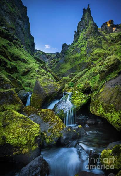 Photograph - Thakgil Falls by Inge Johnsson