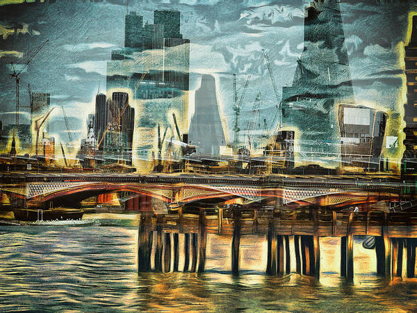 Photograph - Thamesscape by Leigh Kemp