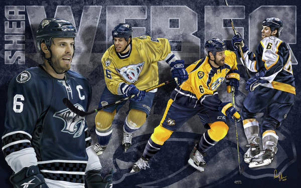 Shea Weber Wall Art - Digital Art - Thanks For The Memories by Don Olea