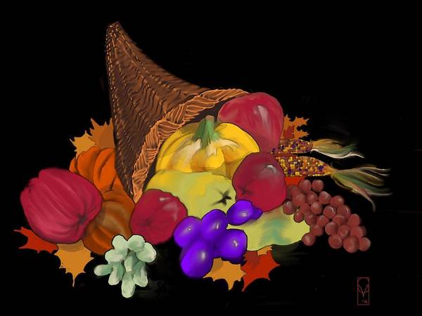 Digital Art - Thanksgiving by Gerry Morgan