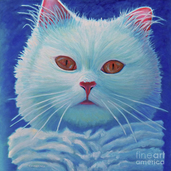 Wall Art - Painting - That Cat by Brian Commerford