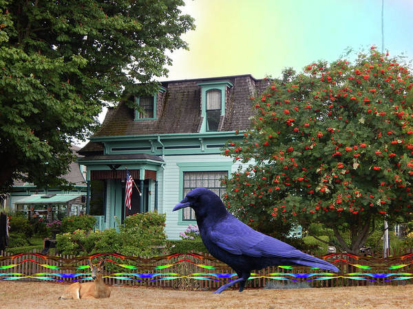 Port Townsend Digital Art - That House In Port Townsend by Glen Faxon