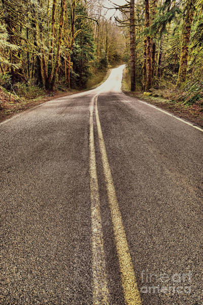 Wall Art - Photograph - That Long Winding Road  by Jeff Swan