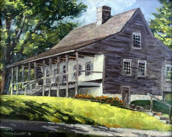 Painting - That Old House by Marty Coulter