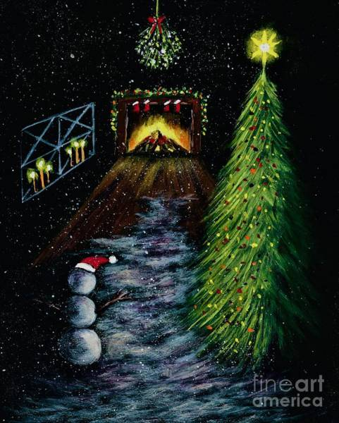 Painting - That's Christmas To Me  by Allison Constantino