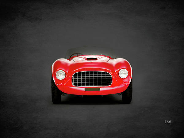 Wall Art - Photograph - The 166 Ferrari by Mark Rogan