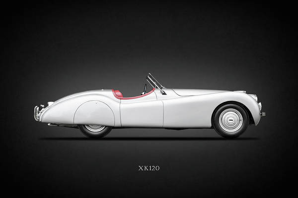Roadster Photograph - The 1949 Xk120 by Mark Rogan