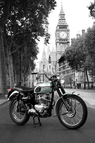 Wall Art - Photograph - The 1956 Trophy Tr6 by Mark Rogan