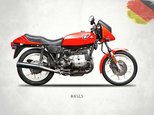 Photograph - The 1982 R65ls by Mark Rogan
