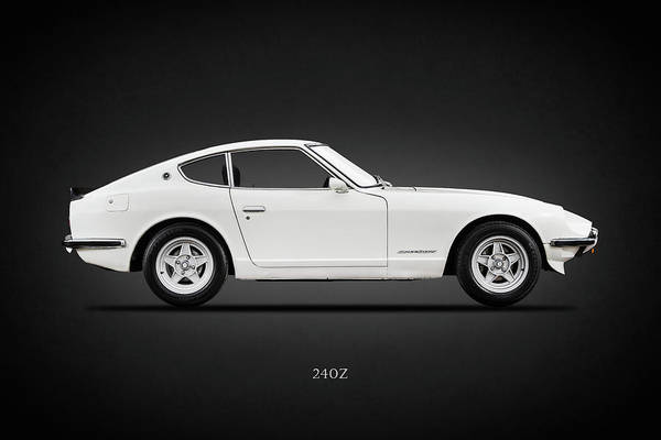 Wall Art - Photograph - The 240 Z by Mark Rogan