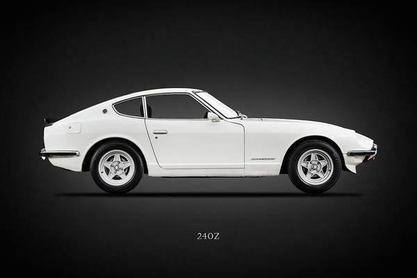 Drift Photograph - The 240 Z by Mark Rogan