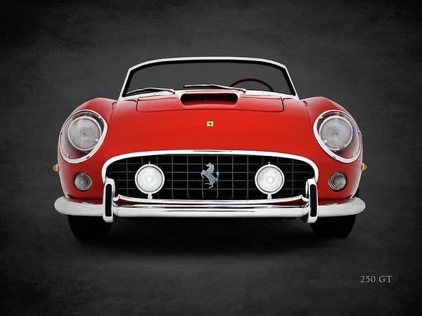Vintage Ferrari Photograph - The 250 Gt by Mark Rogan