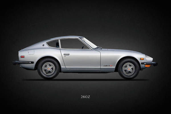 Wall Art - Photograph - The 260 Z by Mark Rogan