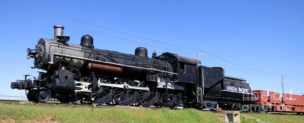Photograph - The 3206 Locomotive by Charles Robinson
