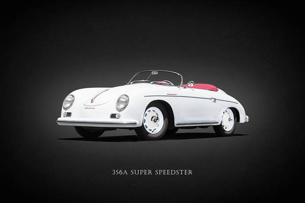 Super Cars Photograph - The 356a Super Speedster by Mark Rogan