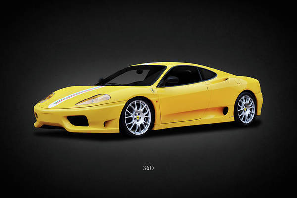 Wall Art - Photograph - The 360 Challenge Stradale by Mark Rogan