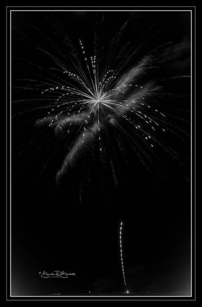Wall Art - Photograph - The 4th Firework  by Brenda D Busskohl