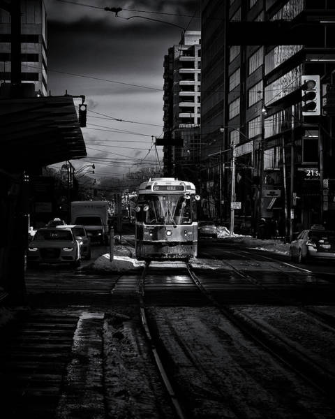 Photograph - The 512 St.clair Streetcar Toronto Canada by The Learning Curve Photography