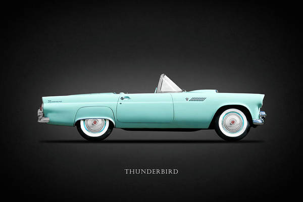 Wall Art - Photograph - The 55 Thunderbird by Mark Rogan