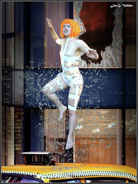 Photograph - The 5th Element by Jon Volden