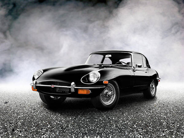 Wall Art - Photograph - The 68 E Type by Mark Rogan