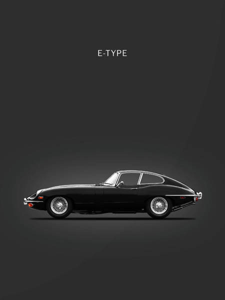 Wall Art - Photograph - The 69 E-type by Mark Rogan
