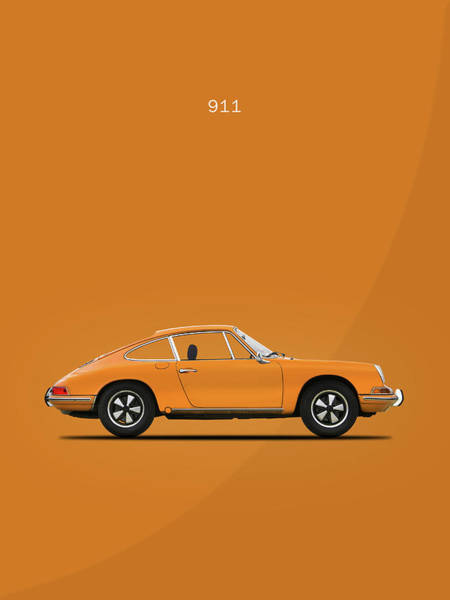 Wall Art - Photograph - The 911 1968 by Mark Rogan