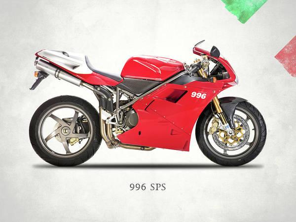 Ducati Bike Photograph - The 996 by Mark Rogan