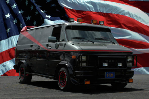 Photograph - The A-team Van Replica by Tim McCullough