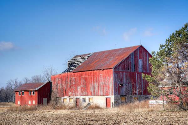 The Abandoned Barn Art Print