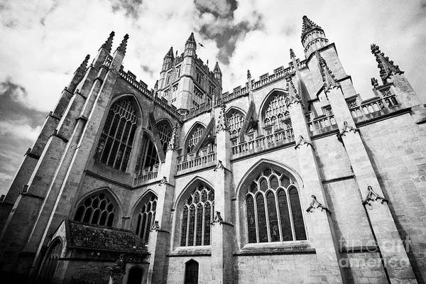 Bath Abbey Photograph - The Abbey Church Of Saint Peter And Saint Paul Known As Bath Abbey Bath Somerset England Uk by Joe Fox