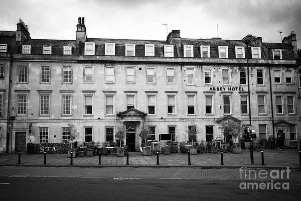Wall Art - Photograph - The Abbey Hotel Georgian Building Bath England Uk by Joe Fox