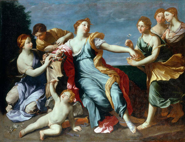 Abduction Wall Art - Photograph - The Abduction Of Europe by Guido Reni