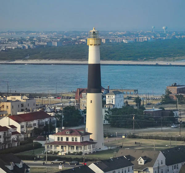 Photograph - The Absecon Lighthouse In Atlantic City New Jersey by Bill Cannon