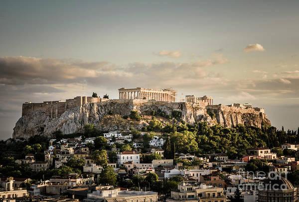 Wall Art - Photograph - The Acropolis by Jason Knott
