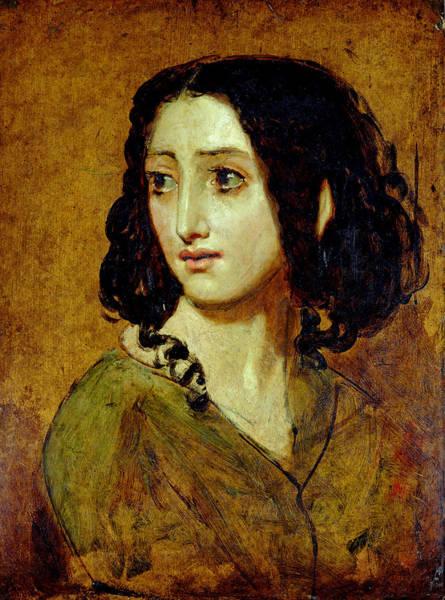 Wall Art - Painting - The Actress Rachel Felix  by William Etty