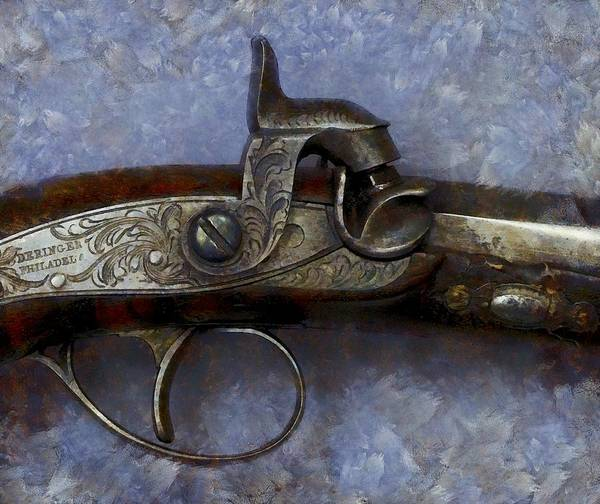 Photograph - The Actual Gun That Killed Abraham Lincoln by Floyd Snyder