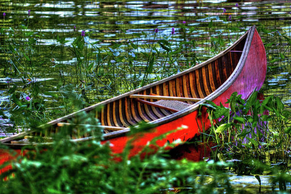 Photograph - The Adirondack Guide Boat by David Patterson