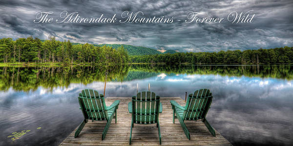 Photograph - The Adirondack Mountains - Forever Wild by David Patterson
