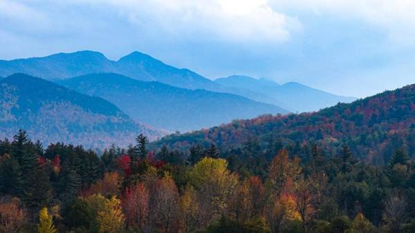 Photograph - The Adirondacks  by Kendall McKernon