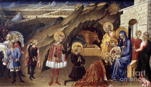 Photograph - The Adoration Of The Magi by Granger