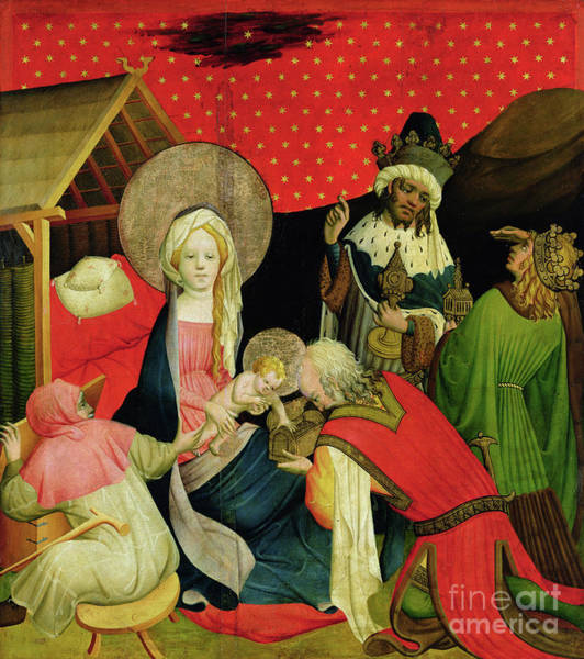 Star Of Bethlehem Painting - The Adoration Of The Magi by Master Francke