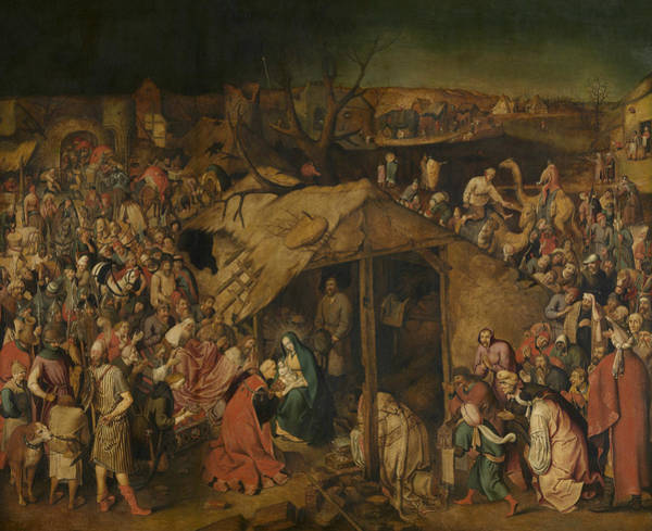 Painting - The Adoration Of The Magi by Pieter Brueghel the Younger